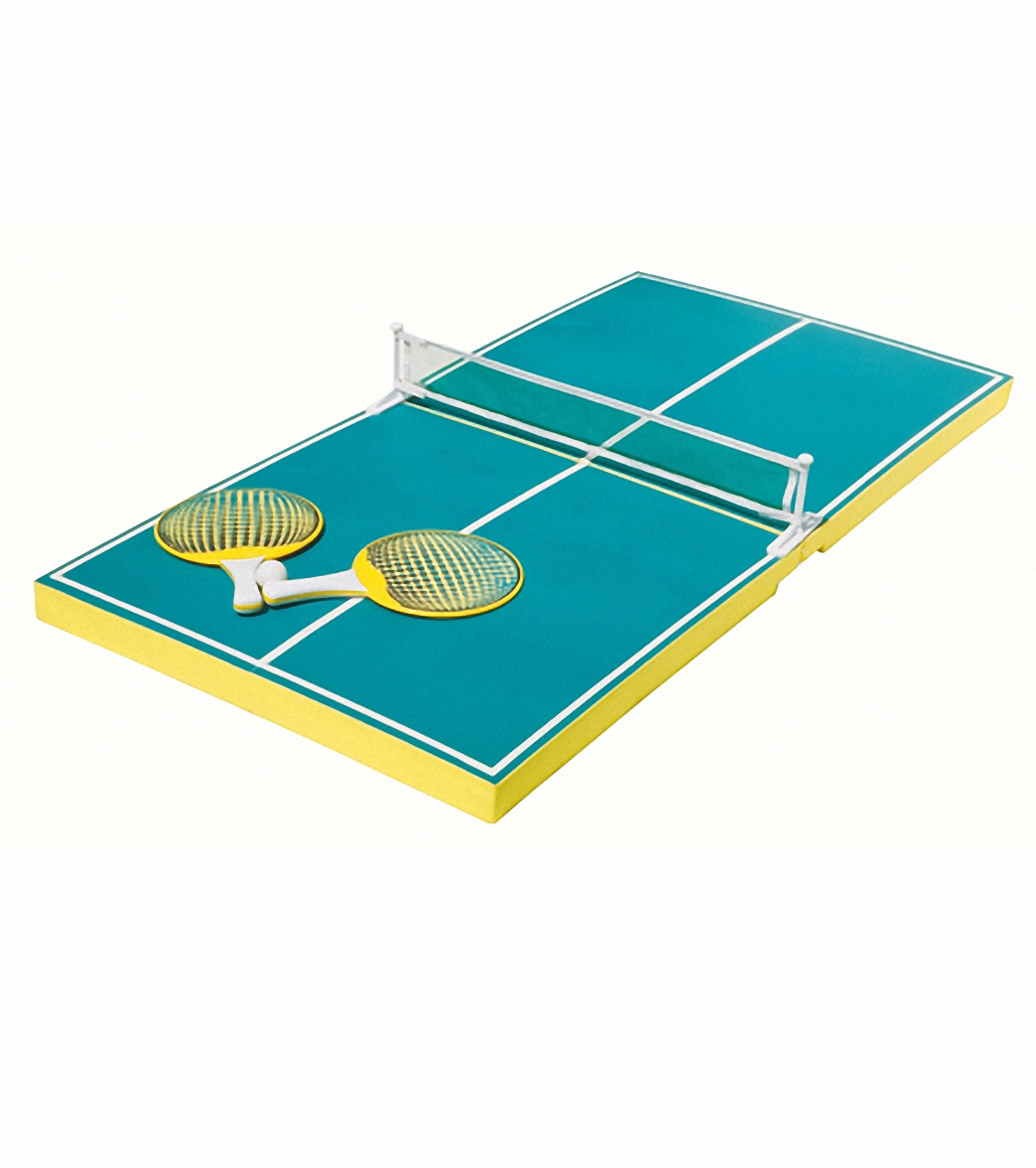 Poolmaster Floating Table Tennis Game At Free Shipping