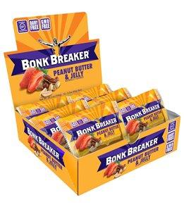 Bonk Breaker Peanut Butter & Jelly Energy Bars (12 Pack)