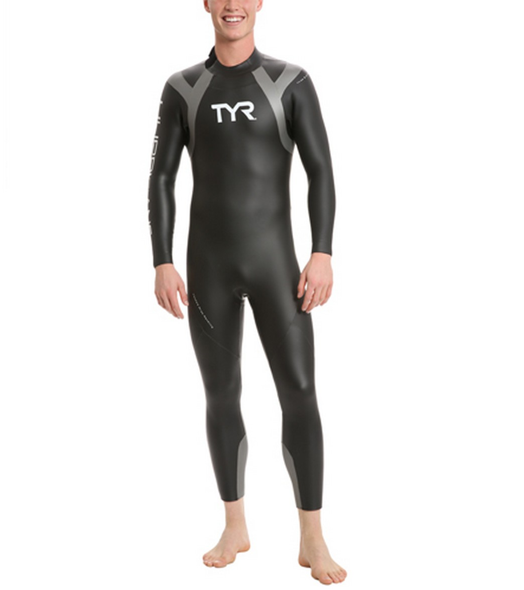 ef37563eb5e TYR Men's Hurricane C1 Wetsuit at SwimOutlet.com - Free Shipping