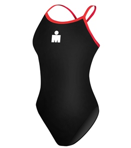 96c572d94d Ironman Solid Butterflyback One Piece at SwimOutlet.com