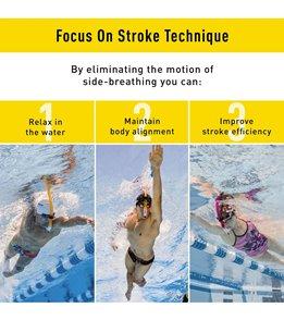 FINIS Original Swimmer's Swim Snorkel Pink