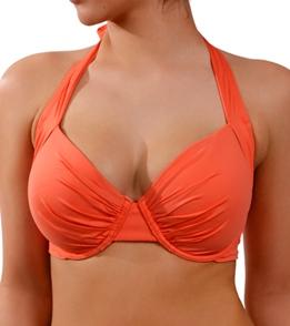 1b55bc46136d69 Tommy Bahama Swimwear Midnight Pearl Full Coverage DD Cup Bra Bikini Top ...