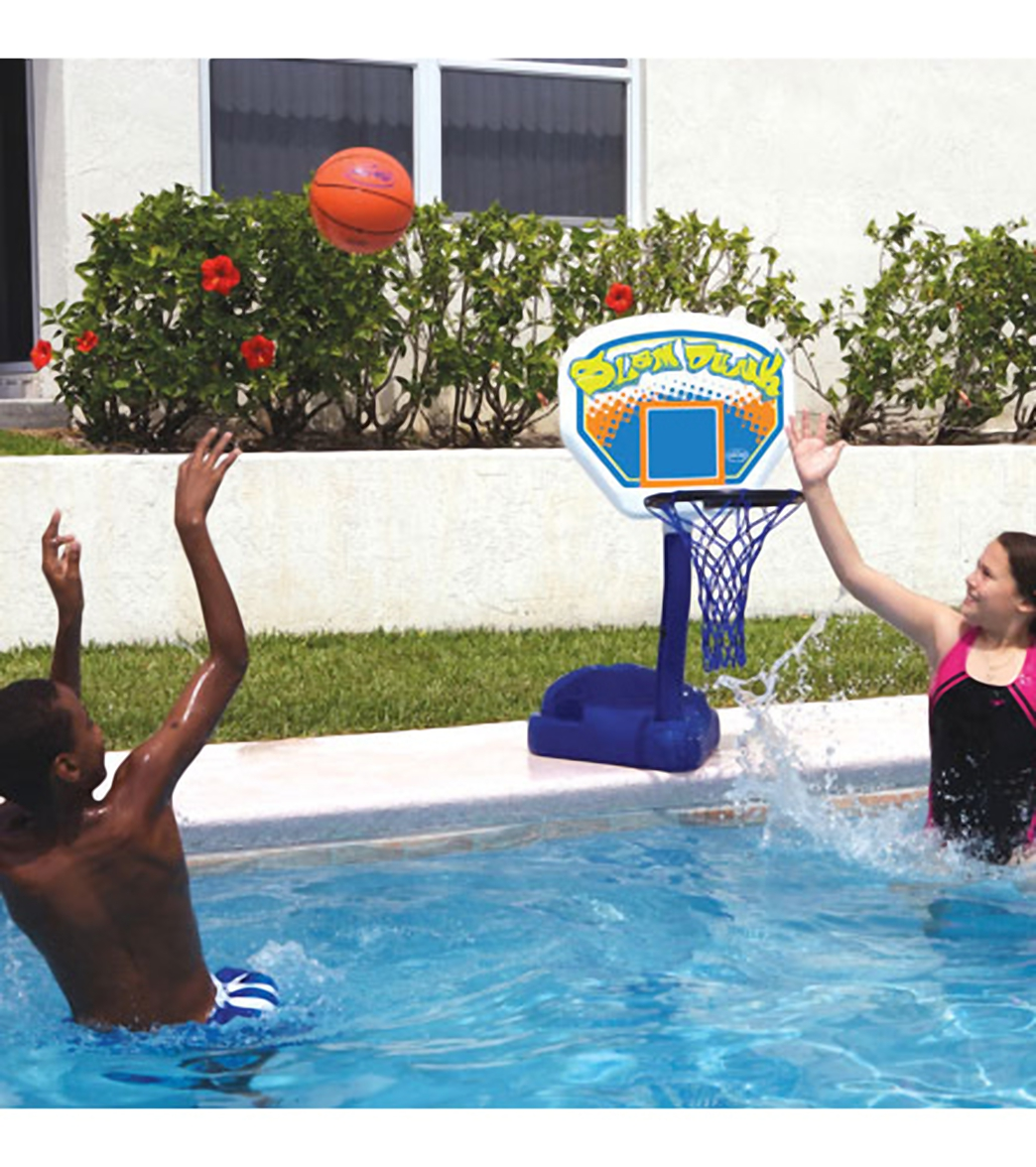 Swimways Poolside Basketball At Free Shipping