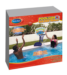 SwimWays Poolside Basketball