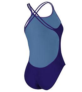 e16c6bd55d3 ... SwimOutlet.com Exclusive Nike Swim Solid Spider Back One Piece Tank  Swimsuit