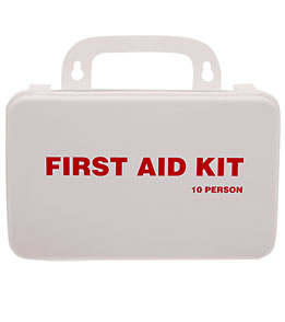 KEMP 10 Person Lifeguard First Aid Kit