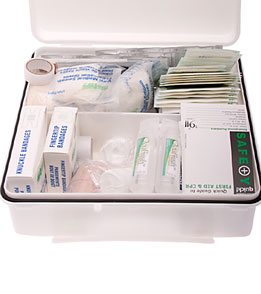 KEMP Lifeguard 24 Unit First Aid Kit