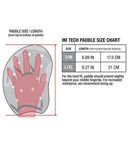 Speedo I.M. Tech Paddle