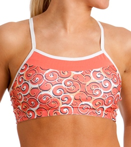 Moving Comfort Alexis Curly Girl Print Sport Bra At Swimoutlet Com