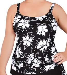 a2540cc7dc432 Beach House Sunset Cove Plus Size Tankini Top at SwimOutlet.com ...