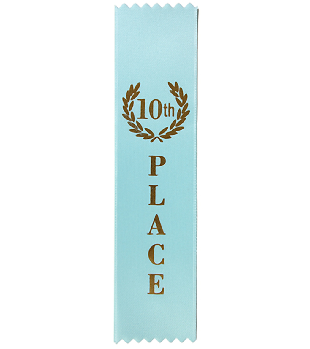 10th Place Stock Award Ribbon at SwimOutlet.com