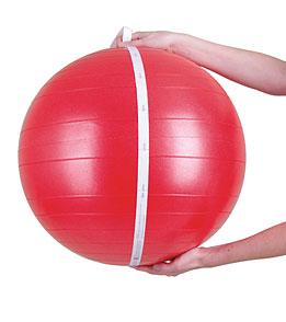 AeroMat Fitness Ball Kit 55cm