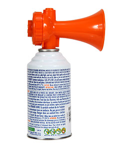 KEMP 8 oz. Air Horn with Power Pack