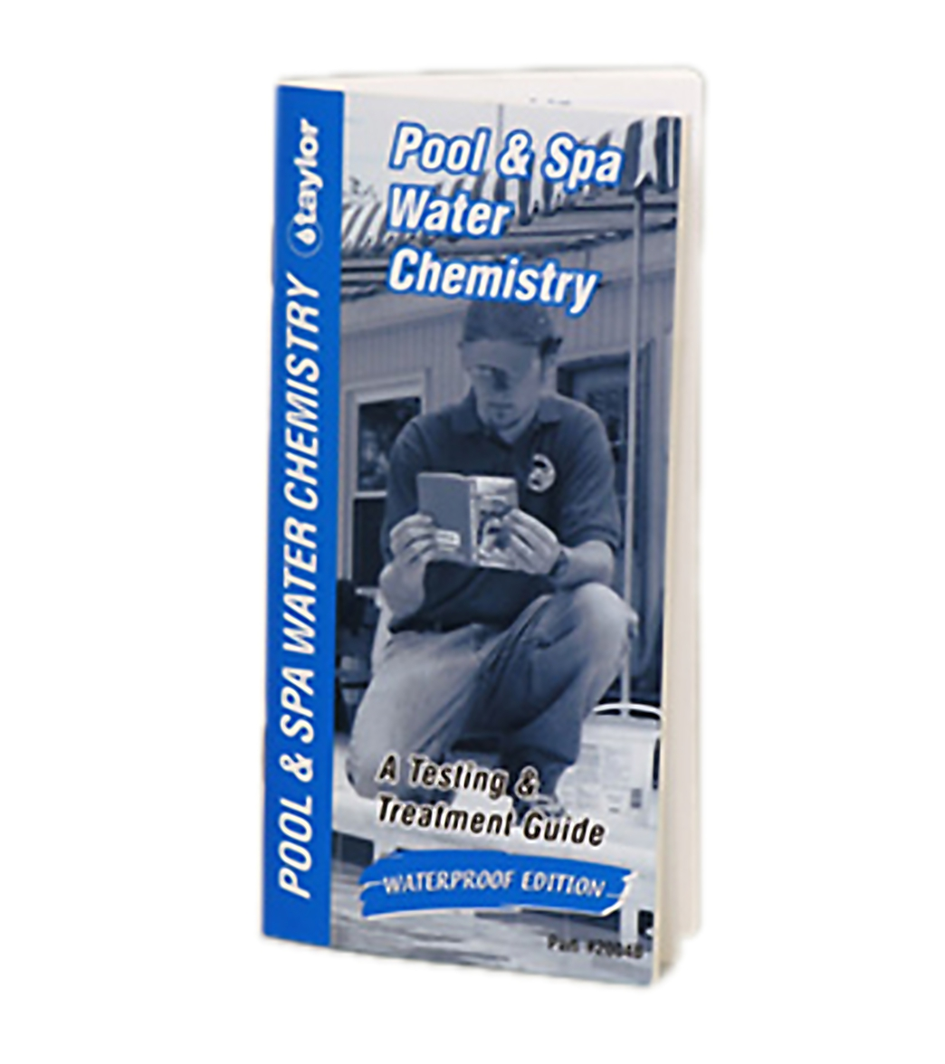 Taylor Technologies Pool Spa Water Chemistry Booklet At