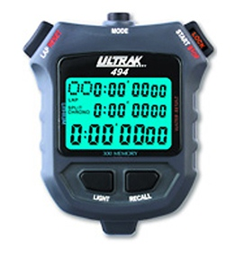 Ultrak 300 Lap Memory Timer w/Electro-Luminescent Display