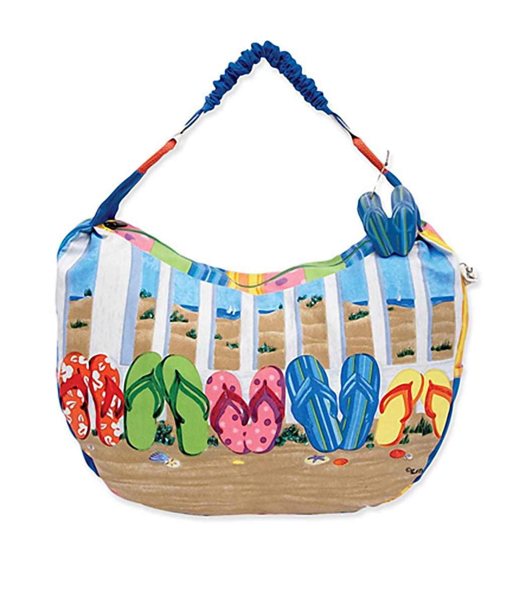 Flip Flops Tote Beach Bag
