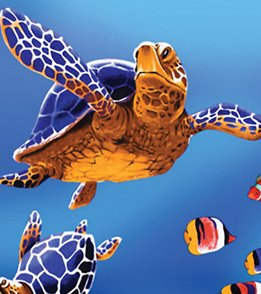 Wet Products Sea Turtles Towel