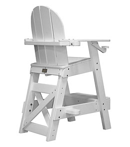 Tailwind Recycled Plastic Lifeguard Chair w/Step