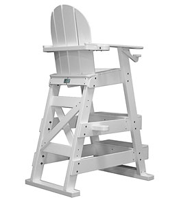 Tailwind Recycled Plastic Lifeguard Chair w/2 Steps