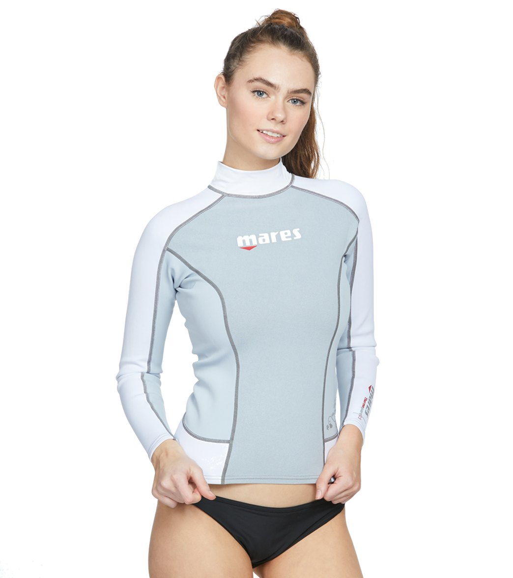 ed46808236543 Mares Women's Thermo Guard Long Sleeve Rashguard at SwimOutlet.com - Free  Shipping