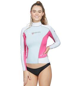 Mares Women's Trilastic Pink Long Sleeve Rashguard