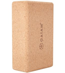 Gaiam Cork Yoga Block 3 Inch
