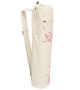 Gaiam Dragonfly Embroidered Yoga Mat Bag At Yogaoutlet Com