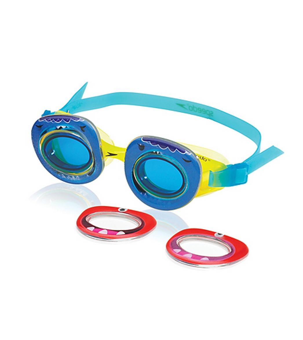 Speedo Neonwonders Lemon Yellow Goggle At Swimoutlet Com