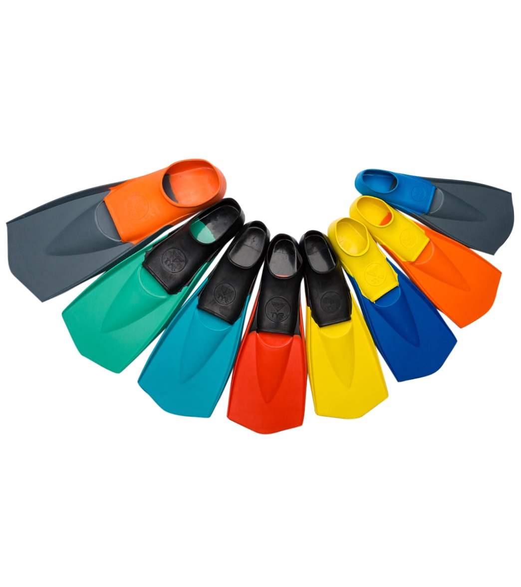 tyr flex swim fins at swimoutlet com