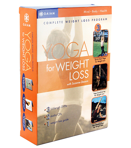 Gaiam Complete Yoga Weight Loss Program DVD At YogaOutlet.com