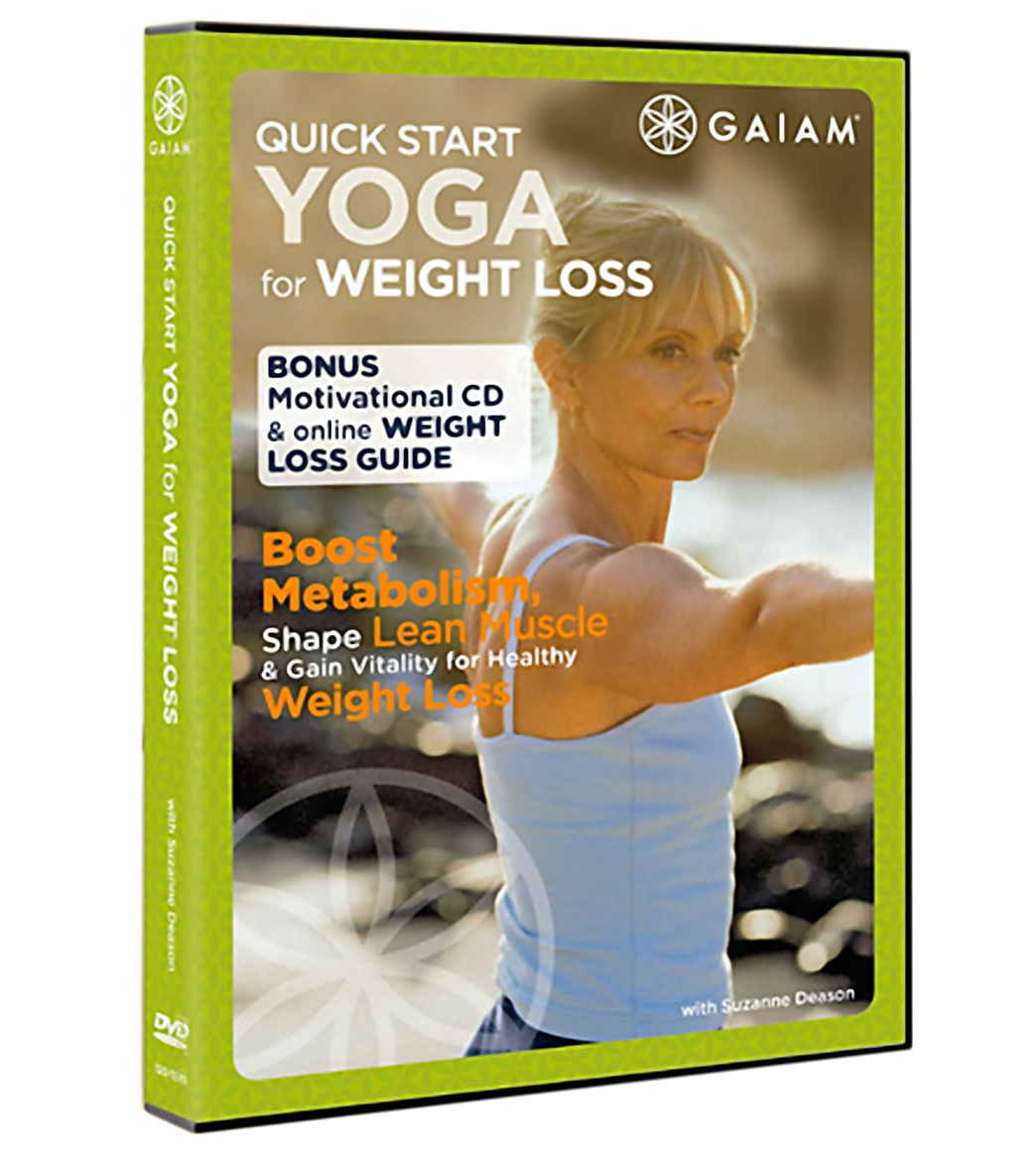 Gaiam Quick Start Yoga For Weight Loss DVD At SwimOutlet.com