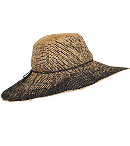 Sun N Sand Ombre Palms Two Tone Straw Hat At Swimoutlet Com