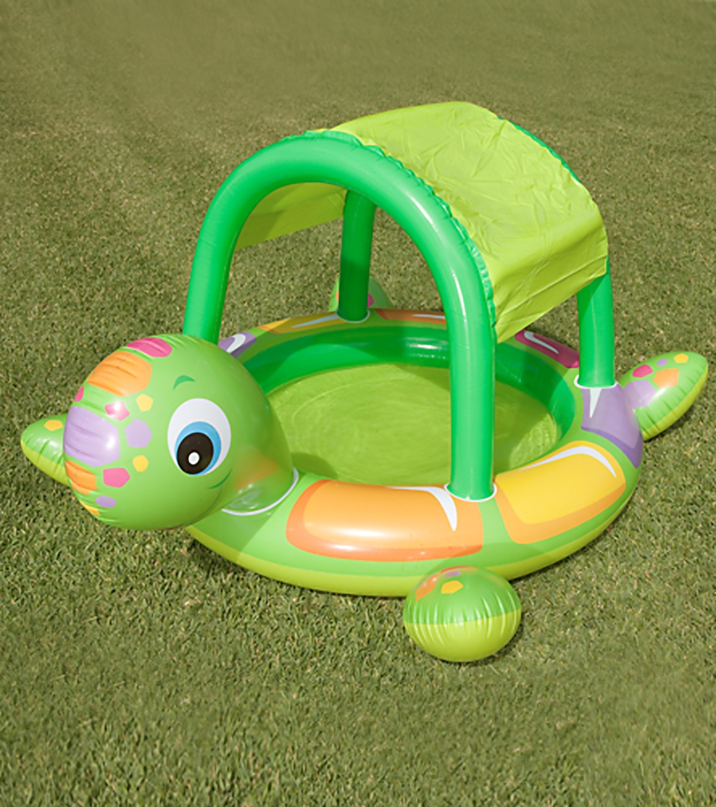 Intex Turtle Baby Inflatable Pool At Swimoutlet Com