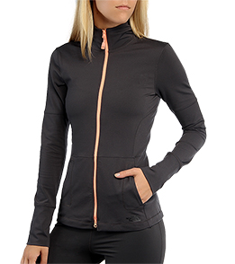 the north face women 39 s tadasana vpr print fz long sleeve yoga top at free shipping. Black Bedroom Furniture Sets. Home Design Ideas