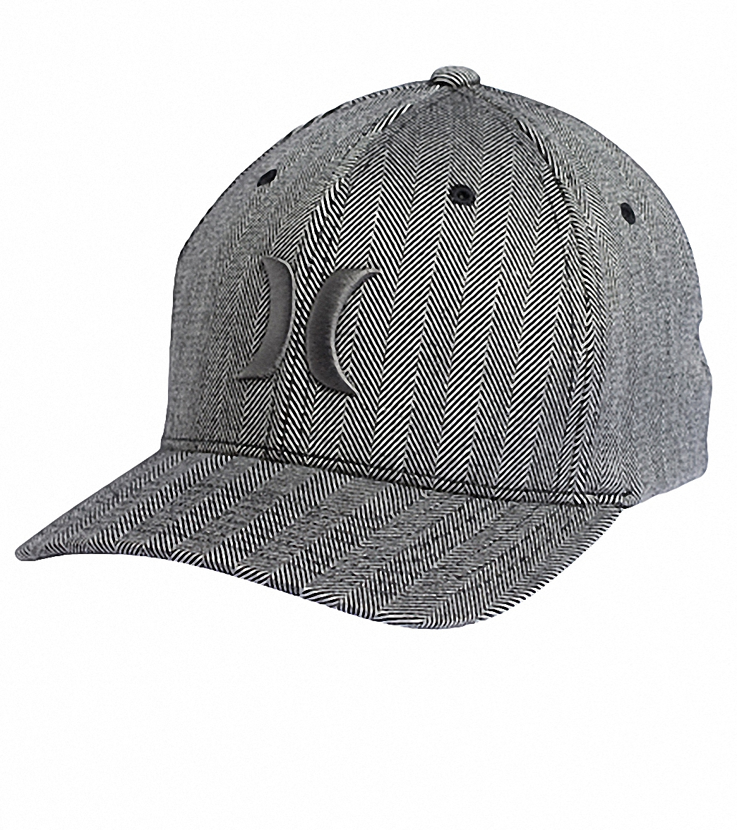1be280d4 Hurley Guys' One & Only Textures Flexfit Hat