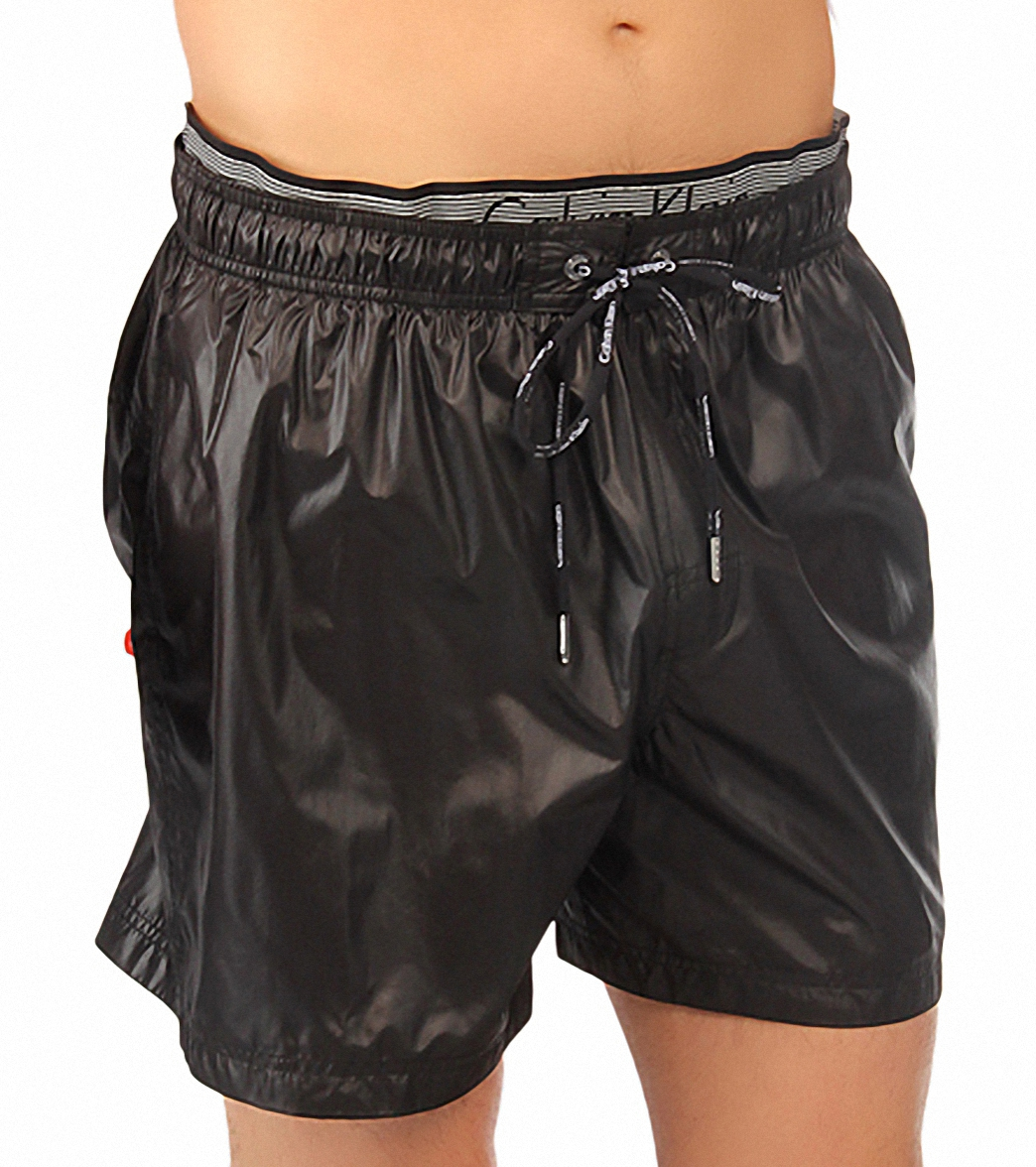 b878498b4d Calvin Klein Double Waistband Volley Swim Trunk at SwimOutlet.com ...
