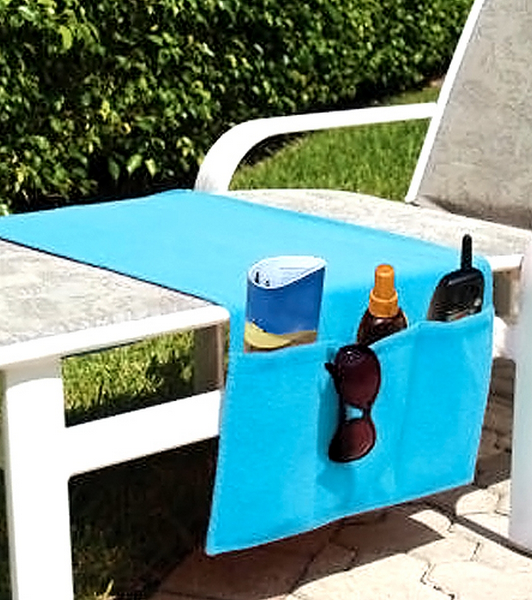 USA Pool & Toy Boca Chaise Organizer at SwimOutlet