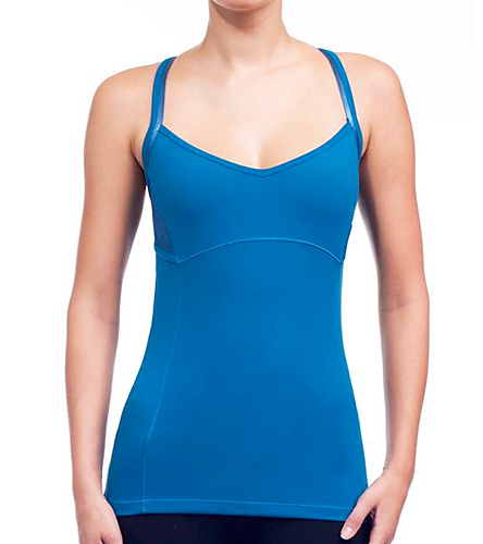 Alo Women S Mesh Overlay Yoga Tank At Swimoutlet Com