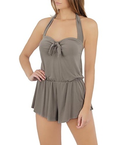 58fddd035a4 Magicsuit by Miraclesuit Solids Romy Romper Swimsuit at SwimOutlet ...