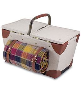 Picnic Time Pioneer Picnic Basket For Two