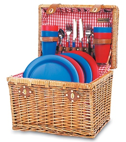Picnic Time Oxford Picnic Basket For Two