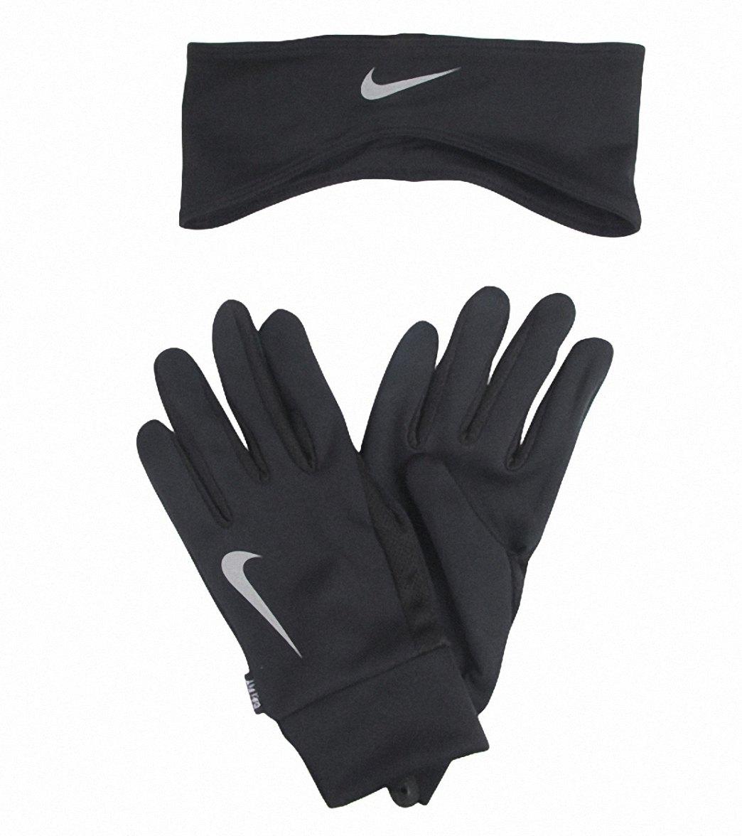 Nike Men s Running Dri-Fit Headband Glove Set at SwimOutlet.com 7641fd2a4f3