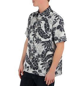Honolua Men's Niu Valley Su002FS Button Up Hawaiian Shirt