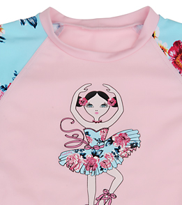 a92ca30e1b ... Seafolly Girls' Rococo Rose Baby Rash Guard Set (3mos-3yrs) ...