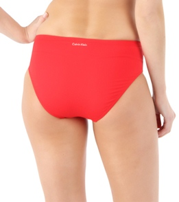 6f2e67b001cdd Calvin Klein Women's High Waist Full Classic Bikini Bottom at ...