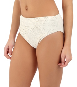 3ad4e159d13c8 ... Sunsets Swimwear White Chocolate Seamless High Waist Bikini Bottom ...