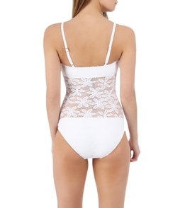 Coco Rave Lucky Lace Bandeau Maillot One Piece Swimsuit