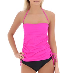 4affed9ec3 Hurley Women's One & Only Solids Bandini Top at SwimOutlet.com
