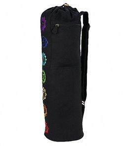 Gaiam Chakra Embroidered Yoga Mat Bag