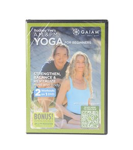 Gaiam Rodney Yee's AM/PM Yoga For Beginners DVD